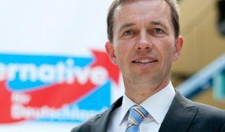 AfD-Chef Bernd Lucke fühlt sich von Moderator Michel Friedmann ungerecht behandelt. (Foto)