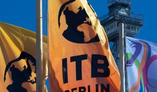 Die Reisemesse ITB präsentiert sich als riesiges Reisebüro. (Foto)