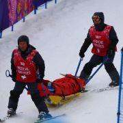 Skicrosserin Wörner mit gebrochenem Schienbeinkopf (Foto)