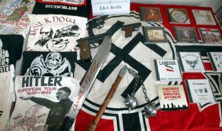 Über 100 aktive Nazi-Bands gibt es in Deutschland. (Foto)