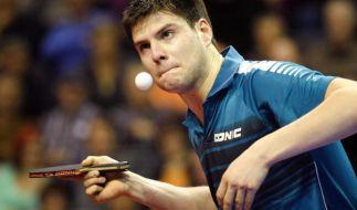 Tischtennis: Ovtcharov im Achtelfinale von Katar (Foto)