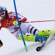 Abschied ohne Medaille: Höfl-Riesch Slalom-Vierte (Foto)