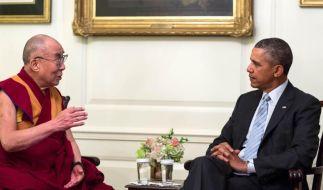 Nach Treffen Obama-Dalai Lama: Peking bestellt US-Vertreter ein (Foto)