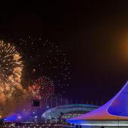 Russland nimmt Abschied als Olympia-Gastgeber (Foto)