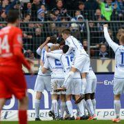 2:1 gegen Sandhausen:KSC rückt auf Rang drei vor (Foto)