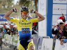Erster Sieg für Contador nach über einem Jahr (Foto)