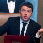 Italiens neuer Regierungschef Renzi im Amt (Foto)