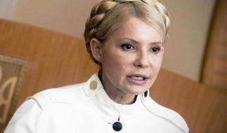 Die ehemalige ukrainische Ministerpräsidentin Julia Timoschenko wurde am 22. Februar aus rund zweieinhalb-jähriger Haft entlassen. (Foto)