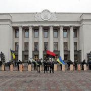 Ukrainischer Parlamentschef zum Übergangspräsidenten bestimmt (Foto)