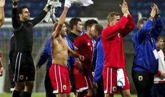 Fußball unterm Affenfelsen: UEFA-Neuling Gibraltar (Foto)