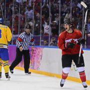 Crosby wieder Goldgarant:Kanada mit Eishockey-Triumph (Foto)