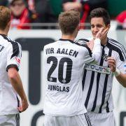 Rückschlag für Kaiserslautern - 1:2 gegen Aalen (Foto)