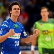 HSV-Handballer als Gruppensieger im Achtelfinale (Foto)