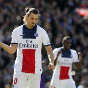 Dreierpack für Ibrahimovic - Paris gewinnt 4:2 (Foto)