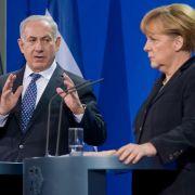 Merkel pocht vor Treffen mit Netanjahu auf Friedens-Fortschritte (Foto)