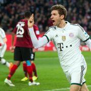Bayern gewinnen auch mit Rotation - 4:0 in Hannover (Foto)