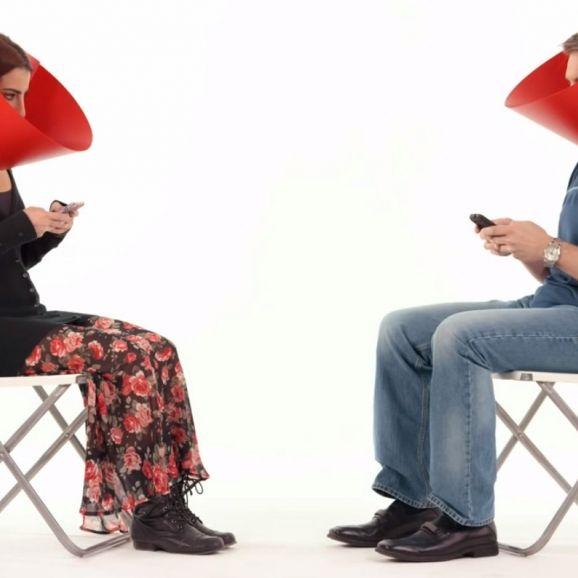 Ein Halskragen gegen die Smartphone-Sucht (Foto)