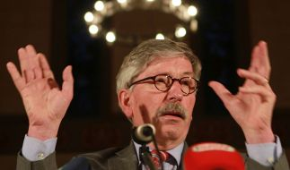 Populistischer Demagoge: Einen Heiligenschein hat Thilo Sarrazin ganz sicher nicht. (Foto)