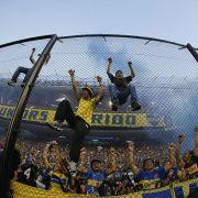 Synonym für Ekstase: Fans von Boca Juniors beim Superclassico gegen River Plate 2013.