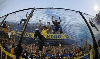 Synonym für Ekstase: Fans von Boca Juniors beim Superclassico gegen River Plate 2013. (Foto)