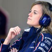 Susie Wolff bleibt Testfahrerin bei Williams (Foto)