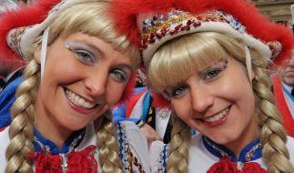 Ganz egal ob in Mainz, Köln oder sonst irgendwo: Die Funke-Mariechen dürfen beim Karneval nicht fehlen. (Foto)
