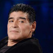 Maradona kommentiert WM für südamerikanischen Sender (Foto)