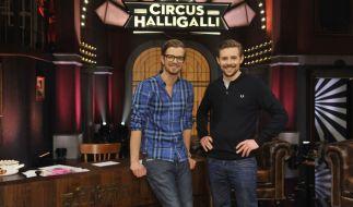 Das Traumpaar der deutschen TV-Landschaft: Joko Winterscheidt (links) und Klaas Heufer-Umlauf. (Foto)