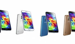 Das Samsung Galaxy S5 ist in verschiedenen Farben erhältlich. (Foto)