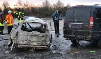 Mehr tödliche Auffahrunfälle auf Autobahnen (Foto)