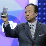 Samsung stellt Galaxy S5 vor - Blackberry setzt auf Tasten (Foto)