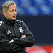 Schalke-Trainer Jens Keller - ein Mann beißt sich durch (Foto)