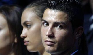 Die Schöne und der Star: Cristiano Ronaldo und seine Freundin Irina Shayk. (Foto)
