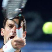 Djokovic und Federer in Dubai im Viertelfinale (Foto)