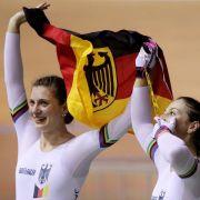 Gold und Silber für deutsche Bahnfahrer zum WM-Auftakt (Foto)