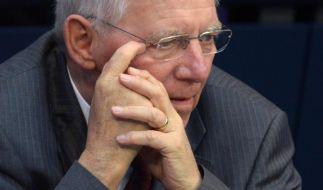 Zeitung: Schäuble plant 2014 knapp sieben Milliarden Schulden (Foto)
