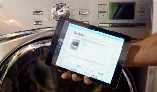 Internet der Dinge: Wenn das Tablet mit der Waschmaschine spricht (Foto)