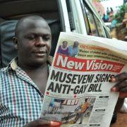 Weltbank stoppt nach Homosexuellen-Gesetz Darlehen an Uganda (Foto)