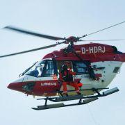 Mindestens ein Toter bei Hubschrauberabsturz in der Ostsee (Foto)
