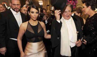 Kim Kardashian wird den Wiener Opernball wohl in keiner guten Erinnerung behalten. (Foto)
