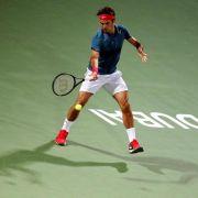Federer zum sechsten Mal in Dubai erfolgreich (Foto)
