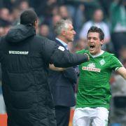 Werder gewinnt Jubiläums-Derby gegen HSV (Foto)