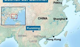 Xinhua: 27 Tote bei Messer-Attacke in chinesischem Bahnhof (Foto)