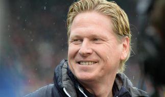 Markus Gisdol will gegen Wolfsburg noch eine Rechnung begleichen. (Foto)