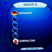 DFB-Gegner Gibraltar «nicht fit»: 1:4 gegen Faröer (Foto)