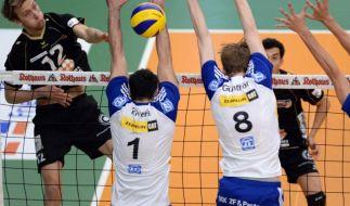 Friedrichshafen holt Volleyball-Pokal (Foto)