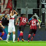 VfB verliert 1:2 in Frankfurt - Hoffenheim stoppt Wölfe (Foto)