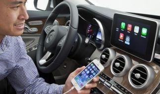 Apple erobert das Auto - Neue Software für iPhone-Integration (Foto)
