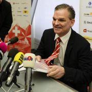 Schweiz-NationalcoachSimpson hört nach der WMauf (Foto)