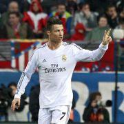 «Heavy Metal» in Madrid - Ronaldo rettet Real 2:2 (Foto)